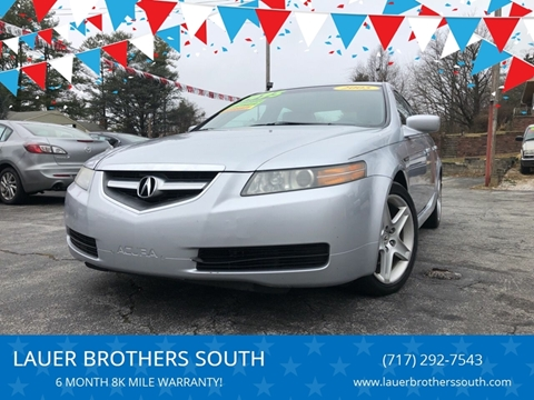 2005 Acura TL for sale at LAUER BROTHERS SOUTH in York PA