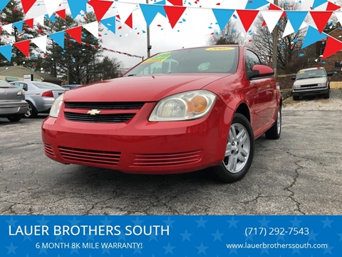 2007 Chevrolet Cobalt for sale at LAUER BROTHERS SOUTH in York PA