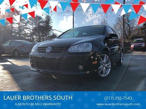 2007 Volkswagen Rabbit for sale at LAUER BROTHERS SOUTH in York PA