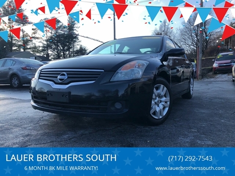 2009 Nissan Altima for sale at LAUER BROTHERS SOUTH in York PA