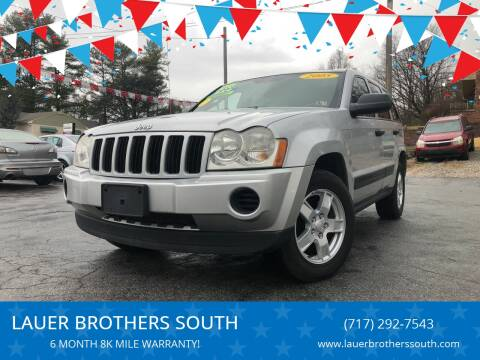 2005 Jeep Grand Cherokee for sale at LAUER BROTHERS SOUTH in York PA