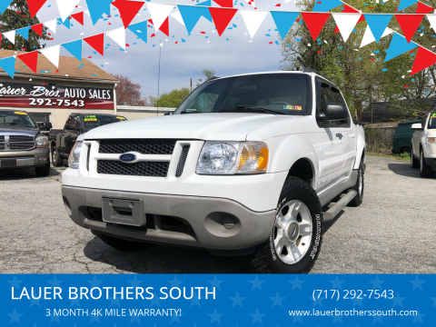 2001 Ford Explorer Sport Trac for sale at LAUER BROTHERS SOUTH in York PA
