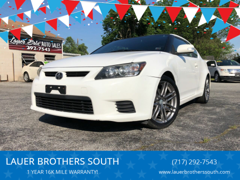 2011 Scion tC for sale at LAUER BROTHERS SOUTH in York PA