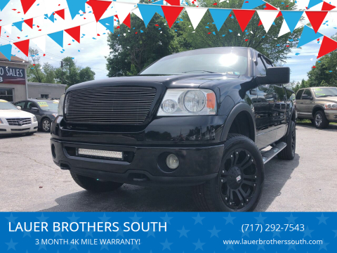 2006 Ford F-150 for sale at LAUER BROTHERS SOUTH in York PA