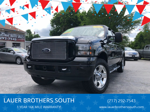 2006 Ford F-250 Super Duty for sale at LAUER BROTHERS SOUTH in York PA