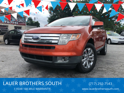 2007 Ford Edge for sale at LAUER BROTHERS SOUTH in York PA