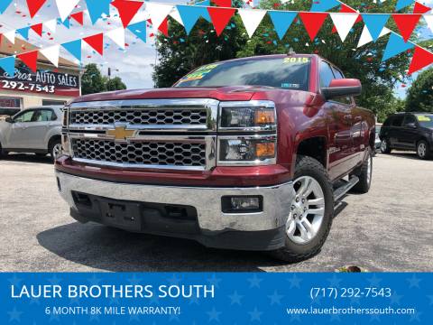 2015 Chevrolet Silverado 1500 for sale at LAUER BROTHERS SOUTH in York PA