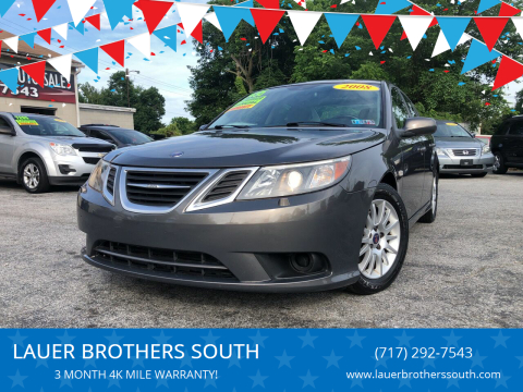 2008 Saab 9-3 for sale at LAUER BROTHERS SOUTH in York PA