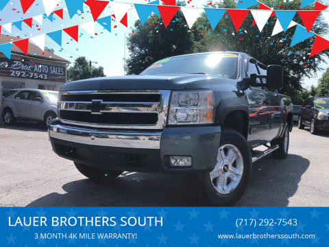 2007 Chevrolet Silverado 1500 for sale at LAUER BROTHERS SOUTH in York PA