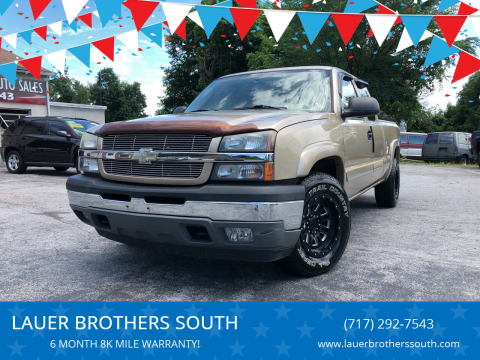 2005 Chevrolet Silverado 1500 for sale at LAUER BROTHERS SOUTH in York PA