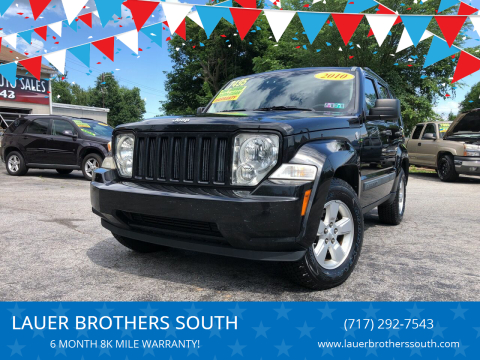 2010 Jeep Liberty for sale at LAUER BROTHERS SOUTH in York PA