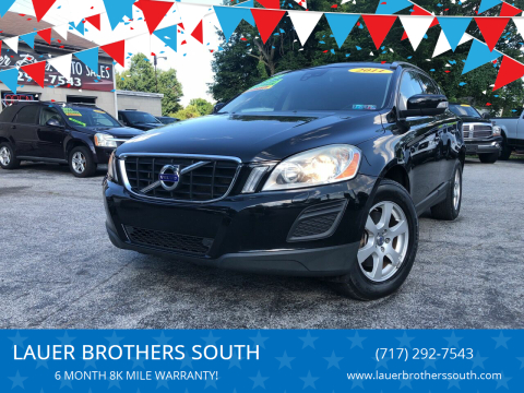 2011 Volvo XC60 for sale at LAUER BROTHERS SOUTH in York PA