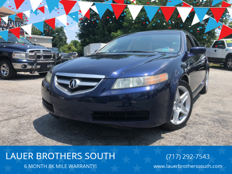 2006 Acura TL for sale at LAUER BROTHERS SOUTH in York PA