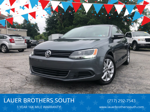 2014 Volkswagen Jetta for sale at LAUER BROTHERS SOUTH in York PA
