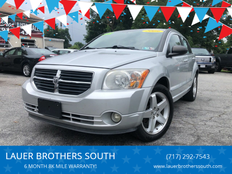 2009 Dodge Caliber for sale at LAUER BROTHERS SOUTH in York PA
