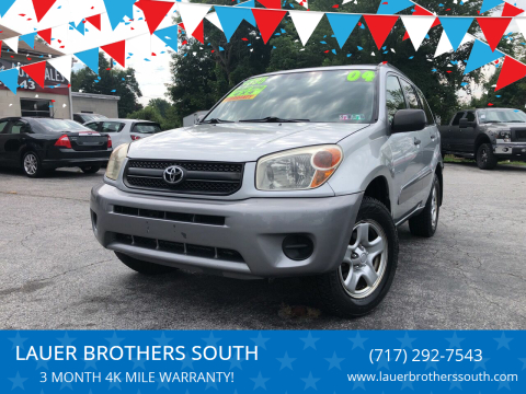 2005 Toyota RAV4 for sale at LAUER BROTHERS SOUTH in York PA