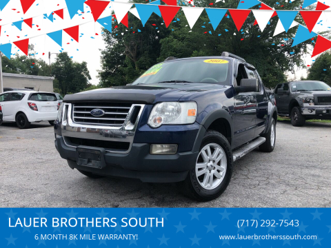 2007 Ford Explorer Sport Trac for sale at LAUER BROTHERS SOUTH in York PA
