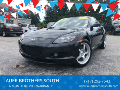 2005 Mazda RX-8 for sale at LAUER BROTHERS SOUTH in York PA