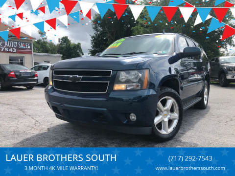 2007 Chevrolet Tahoe for sale at LAUER BROTHERS SOUTH in York PA