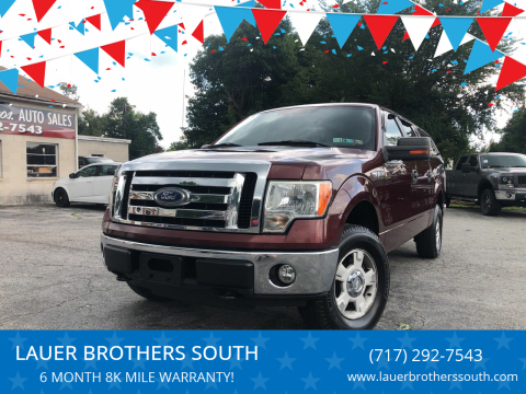 2010 Ford F-150 for sale at LAUER BROTHERS SOUTH in York PA
