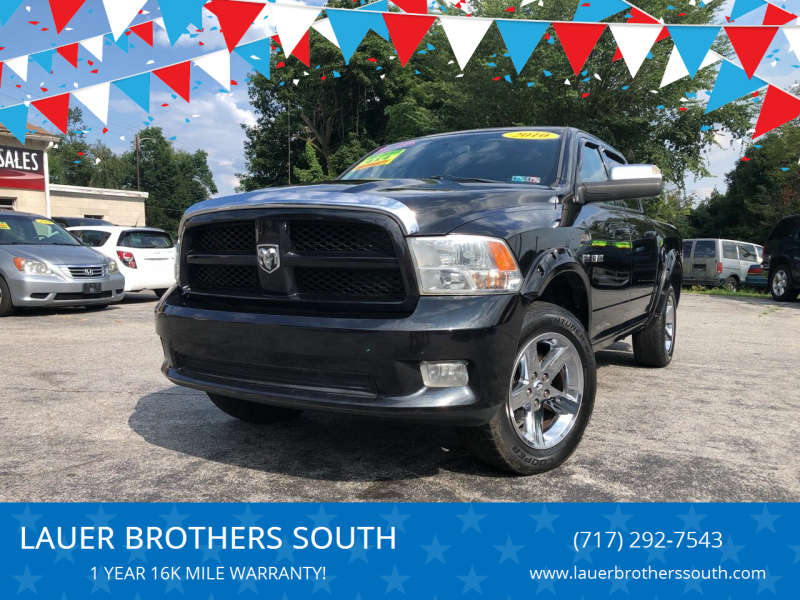 2010 Dodge Ram Pickup 1500 for sale at LAUER BROTHERS SOUTH in York PA