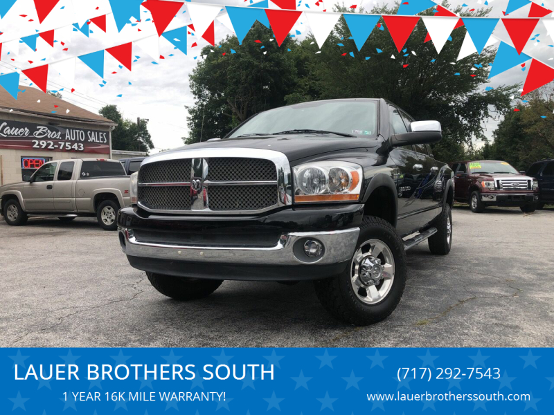 2006 Dodge Ram Pickup 1500 for sale at LAUER BROTHERS SOUTH in York PA