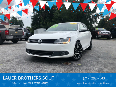2013 Volkswagen Jetta for sale at LAUER BROTHERS SOUTH in York PA