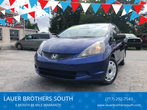 2009 Honda Fit for sale at LAUER BROTHERS SOUTH in York PA