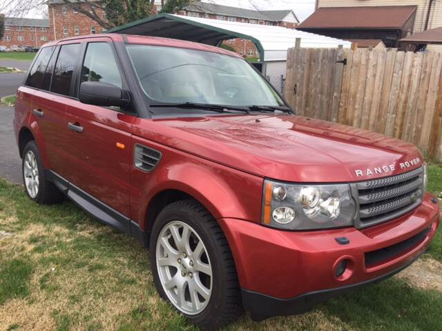 2008 Land Rover Range Rover Sport 4x4 HSE 4dr SUV - Allentown PA