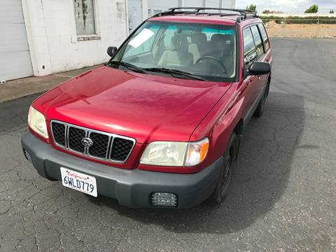 2002 Subaru Forester for sale in Sacramento, CA