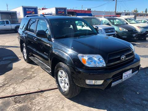 2003 Toyota 4Runner for sale at 101 Auto Sales in Sacramento CA