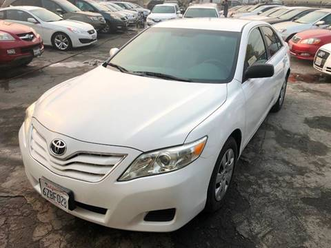 2011 Toyota Camry for sale at 101 Auto Sales in Sacramento CA