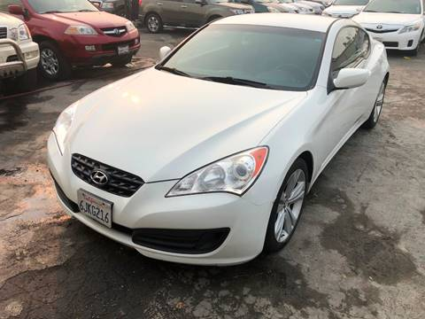 2010 Hyundai Genesis Coupe for sale at 101 Auto Sales in Sacramento CA