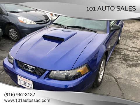2004 Ford Mustang for sale at 101 Auto Sales in Sacramento CA