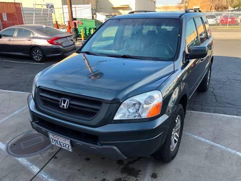 2005 Honda Pilot for sale at 101 Auto Sales in Sacramento CA