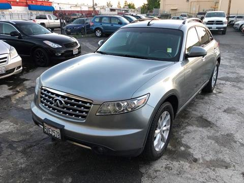 2006 Infiniti FX35 for sale at 101 Auto Sales in Sacramento CA