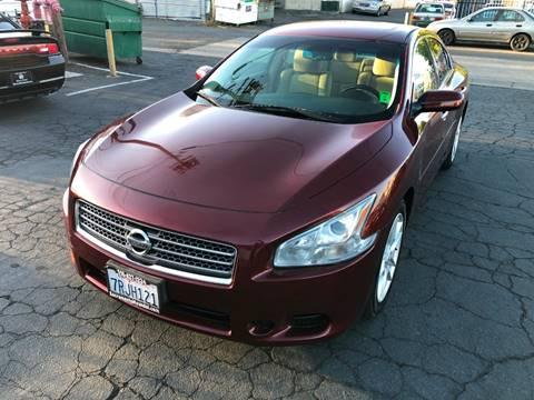 2009 Nissan Maxima for sale at 101 Auto Sales in Sacramento CA