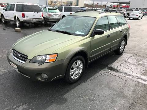 2005 Subaru Outback for sale at 101 Auto Sales in Sacramento CA