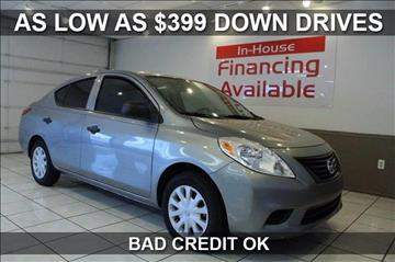 2014 Nissan Versa for sale at $399 Down Drives in Mesa AZ