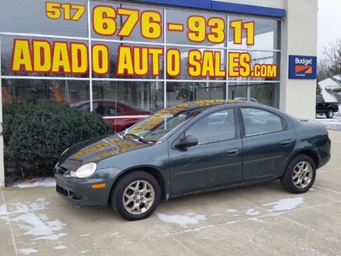 2002 Dodge Neon for sale in Mason, MI