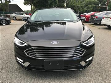2017 Ford Fusion for sale at Triad Imports Inc. in Greensboro NC