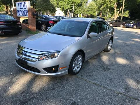 2011 Ford Fusion for sale at Triad Imports Inc. in Greensboro NC