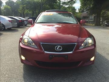 2006 Lexus IS 250 for sale at Triad Imports Inc. in Greensboro NC