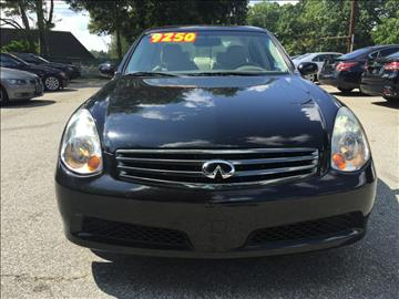 2006 Infiniti G35 for sale at Triad Imports Inc. in Greensboro NC