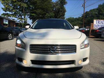 2010 Nissan Maxima for sale at Triad Imports Inc. in Greensboro NC