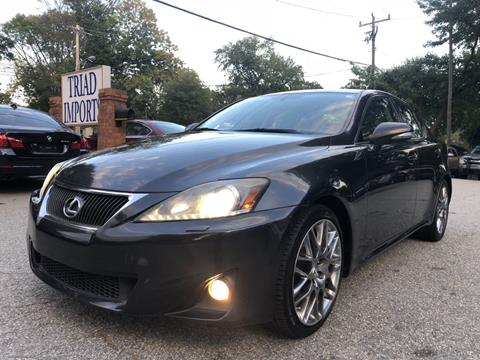 2011 Lexus IS 350 For Sale In Greensboro, NC
