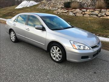 2007 Honda Accord for sale in Candia, NH