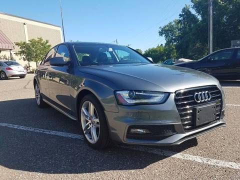 2016 Audi A4 for sale at Dufour Automotive Inc. in Eden Prairie MN