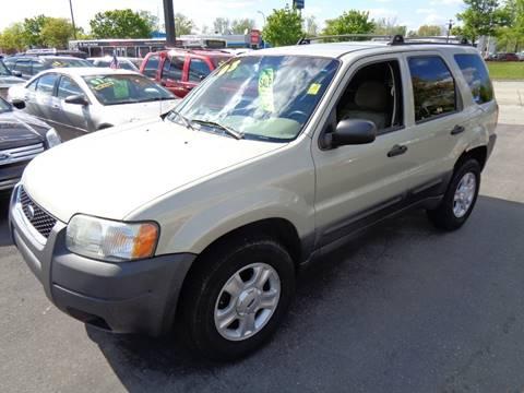 2003 Ford Escape for sale at Aspen Auto Sales in Wayne MI