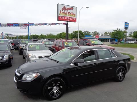 2009 Chevrolet Malibu for sale at Aspen Auto Sales in Wayne MI